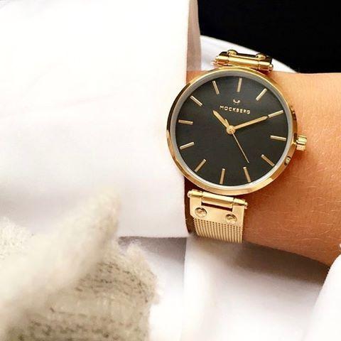 インデックス(文字盤の目盛)がはっきりしていて見やすい腕時計