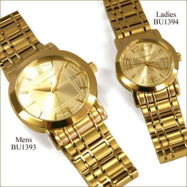 バーバリーの腕時計_ゴールド