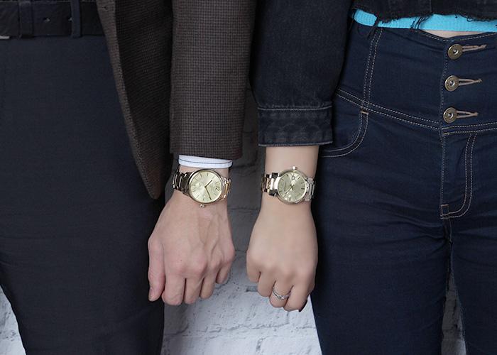 バーバリーの腕時計_ゴールド_2