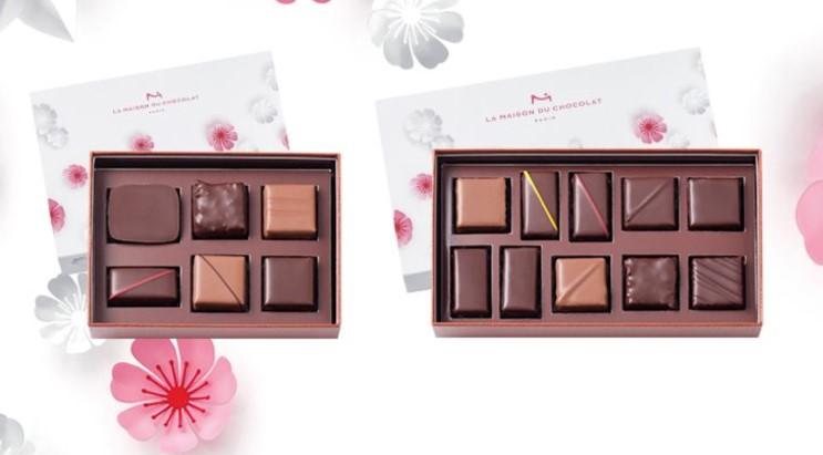 高級チョコの詰め合わせボックス【予算:3,996円】
