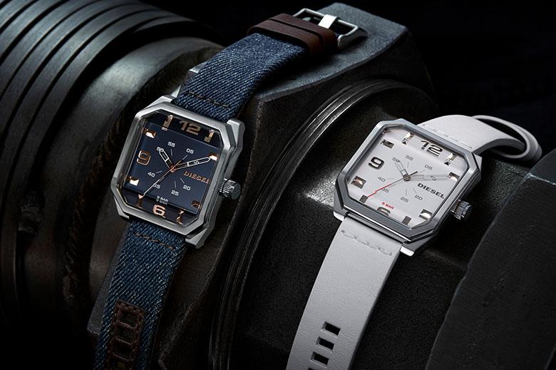 Dieselの腕時計は、カジュアルでありながらも仕事の時にも使えるようなデザイン