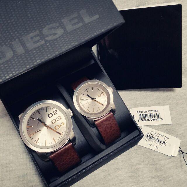 Dieselの腕時計は、カジュアルでありながらも仕事の時にも使えるようなデザイン_2