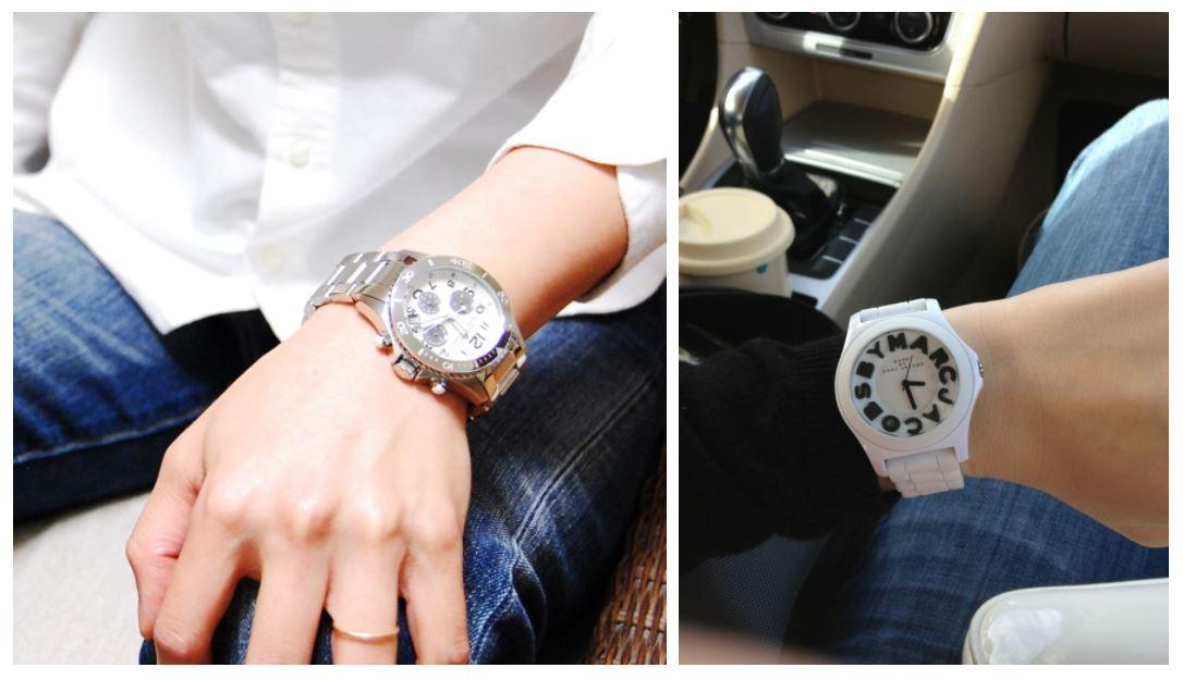 marc jocobsはメンズの腕時計もかっこいい
